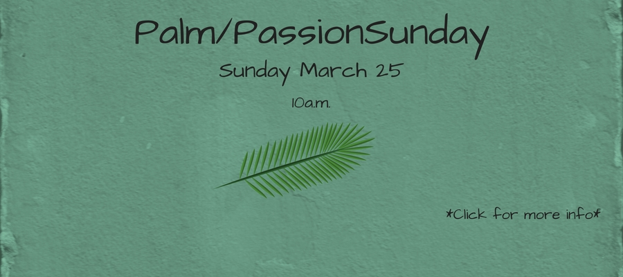Palm2FPassionSunday