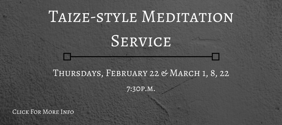 Taize-style-Meditation-Service